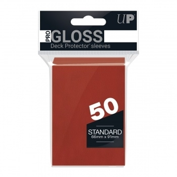 "Ultra Pro Deck Protector ""Solid Red"" (50)"