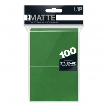 "Ultra Pro Deck Protector ""Pro-Matte Green"" (100)"