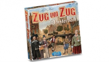 Zug um Zug: Amsterdam (Days of Wonder)