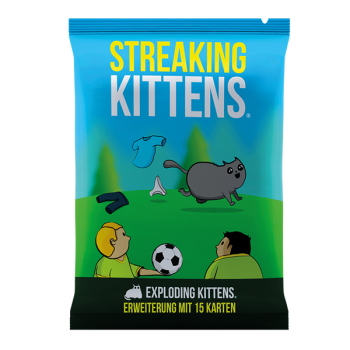 Exploding Kittens - Streaking Kittens (Deutsch)