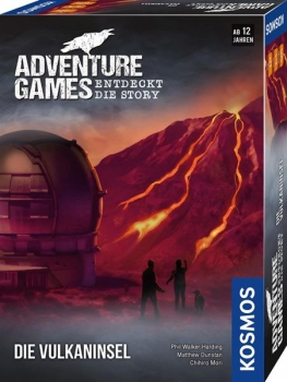 Adventure Games - Die Vulkaninsel (Kosmos)