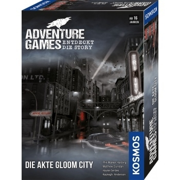 Adventure Games - Die Akte Gloom City (Kosmos)