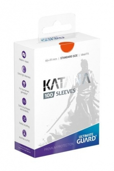 Ultimate Guard Katana Sleeves Standardgröße Orange