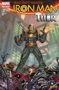 Iron Man / Thor Comic Nr. 12 (Panini)