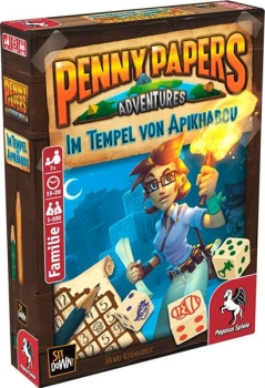 Penny Papers Adventures: Im Tempel von Apikhabou (Deutsch)