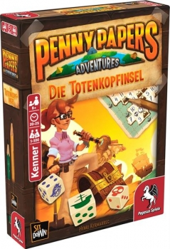 Penny Papers Adventures: Die Totenkopfinsel (Deutsch)