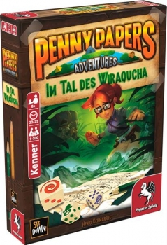 Penny Papers Adventures: Im Tal des Wiraqucha (Deutsch)