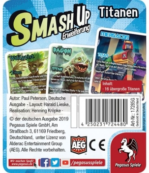 Smash Up: Titanen Flowpack