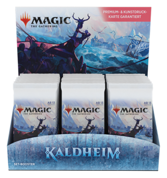 MTG - Kaldheim Set Booster Display (30 Packs) - DE
