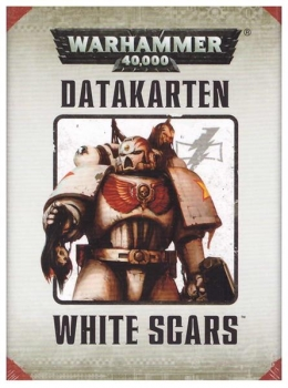 (48-04) Datacards: White Scars (DEUTSCH)
