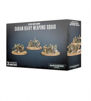 (47-19) A/Militarum Cadian Heavy Weapon Squad
