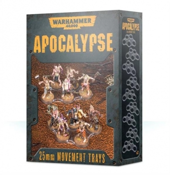 (65-20) WH40K Apocalypse Movement Trays (25mm)