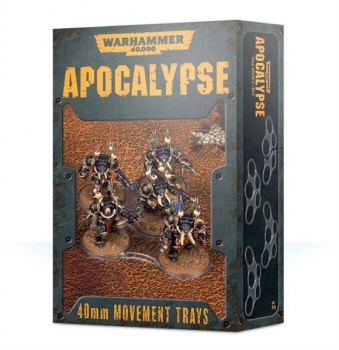 (65-22) WH40K Apocalypse Movement Trays (40mm)