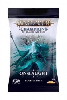 Warhammer AOS TCG: Champions Wave 2 Onslaught Booster (engl.)
