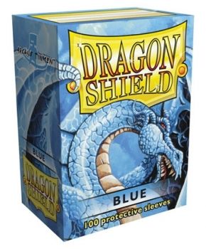 Dragon Shield: Blau (100)