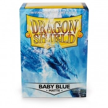 Dragon Shield Matte: Baby Blue (100 Stück)