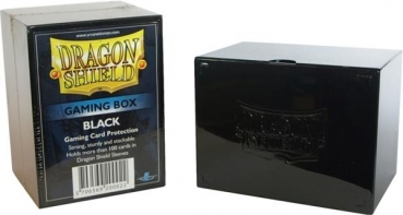 Dragon Shield: Gaming Box 100+ (Schwarz)