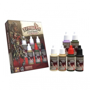 Army Painter - Zombicide Green Horde Paint Set