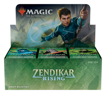 MTG - Zendikar Rising Draft Booster Display (36 Packs) - EN