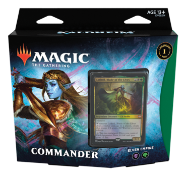 "MTG - Kaldheim Commander Deck ""Elven Empire"" - EN"