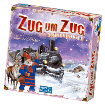 Zug um Zug - Skandinavien (Days of Wonder)