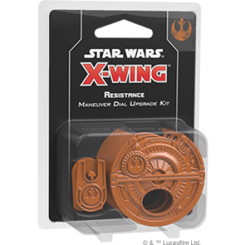 Star Wars X-Wing 2E: Resistance Maneuver Dial Upgrade Kit