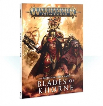 (83-01-04) Battletome: Blades of Khorne (SB) (DEU)