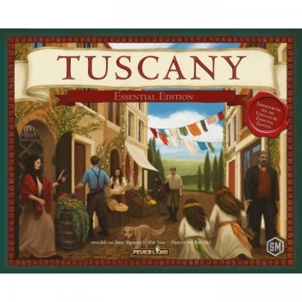 Tuscany: Essential Edition (Feuerland Spiele)