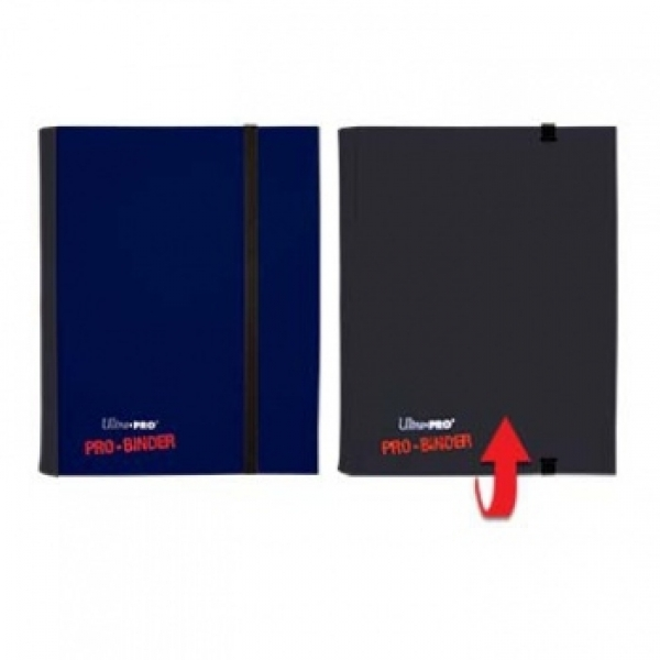 Ultra Pro PRO-Binder 4-Pocket - Blau/Schwarz