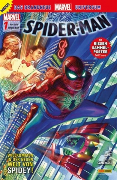 Spider-Man Comic Nr. 1  (Panini 2016)