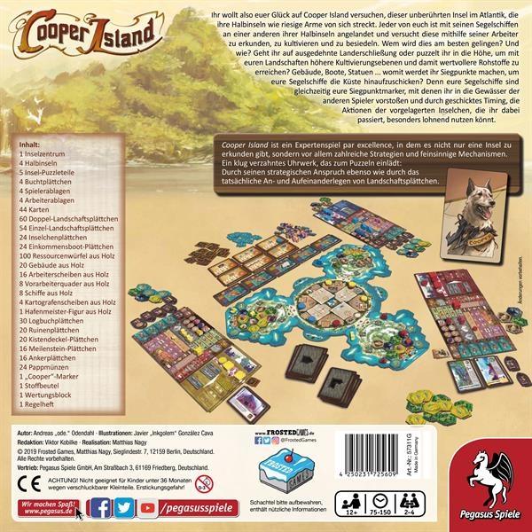 Cooper Island: Cooper Island (Deutsch) (Pegasus Spiele
