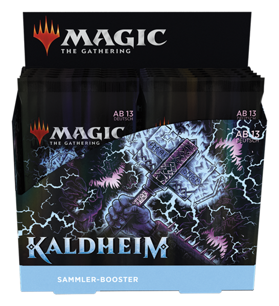 MTG - Kaldheim Sammler Booster Display (12 Packs) - DE