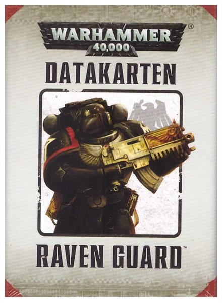 (48-06) Datacards: Raven Guard (DEUTSCH)