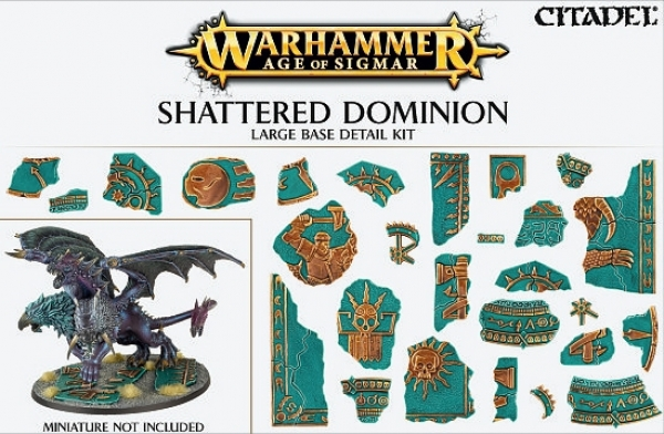 (66-99) AOS: Shattered Dominion: Large Base Detail Kit