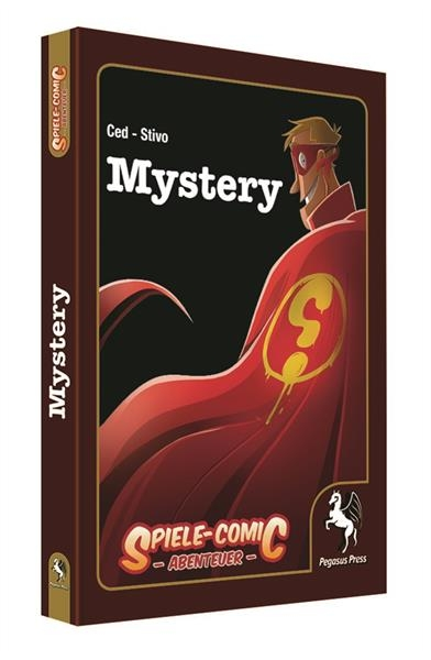 Spiele-Comic Abenteuer: Mystery (Hardcover)